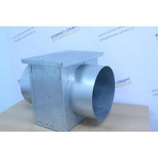 Фильтр круглых воздуховодов ФЛК д-125 (корпус + кассета)