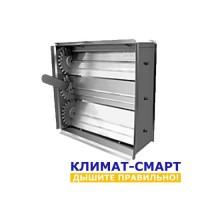 Алюминиевый клапан для решётки 600х600