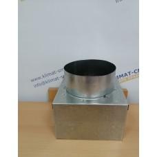 Адаптер для потолочной решетки - Осевая врезка - 310х310/160