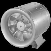 Канальный вентилятор Etaline в круглом корпусе для применения с преобразователем частоты модели   EL 500 D4 01