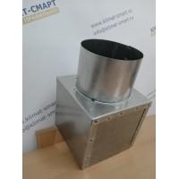 Адаптер для потолочной решетки - Осевая врезка - 460х460/200