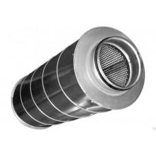 Шумоглушитель для круглых воздуховодов ГКР D100/600