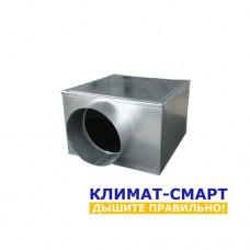 Адаптер для потолочной решетки - Боковая врезка - 160х160/100
