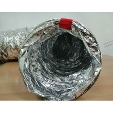 Гибкий алюминиевый воздуховод - 100 (102мм, 10м)